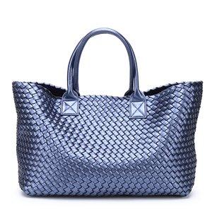 Designer Bags Designer Bagsdesigner Bags2019 Design Woven Handbags For Women Bales Fashion Tide Weave Hand Shoulder Lady Large-cap