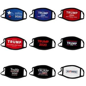 Grosso New Designer Trump Luxo Máscara Facial Algodão de protecção 3 camadas de moda Esporte Meia Face Boca Mask Anti Poluição PM2.5 3D # 180