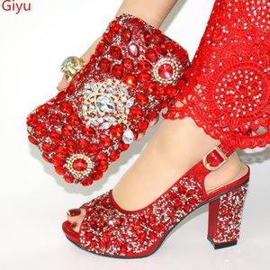 Partinin !! SJL1-9 için Bags Eşleştirme ile Moda Kadınlar güzel altın Ayakkabı Ve Çanta Seti için Karşılaşma Yüksek Kaliteli İtalyan Ayakkabı doershow