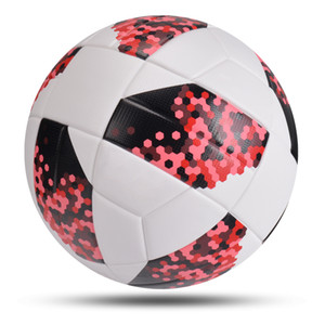 New Professional Soccer Ball Size 5 Soft PU Material Football Training Competition Match Adult Child Inflatable balon de futbol