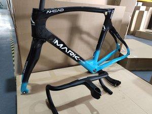 2020 스타일 OEM 로고 전체 탄소 자전거 프레임 T1100 1K Torycal 자전거 프레임 블랙, 블루 자전거 프레임 하늘 팀 경주 무료 배송 프레임