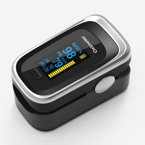 Pulsoximeter Fingertip 4 Parameter Puls Sauerstoffsättigung Pulsfrequenz Perfusionsindex Atemfrequenz
