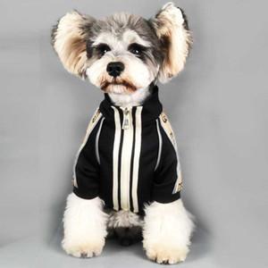 Frühling Herbst Weinlese Haustiere Jacken Mode Brief gedruckt Schnauzer Coat Festival Geschenk für Bulldog Trendy Pullover