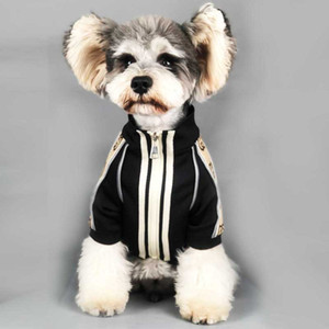 Primavera Queda Brasão Vintage Animais casacos de moda letra impressa Schnauzer presente Festival de Bulldog na moda Hoodies