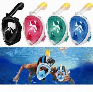 2019 Anti-Leak Diving Mask Scuba Mask Anti Fog Full Face Snorkeling Mask Women Men Kids Swimming Snorkel Diving Equipment Safety gear M10Y