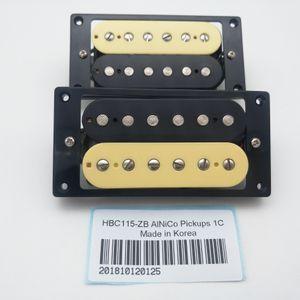 Best Electric Guitar Pickups Classic Plus Alnico5 Humbucker Pickups 1C Braided Shield Suitable for LP&SG Guitar