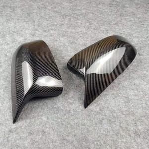 Espejo retrovisor de carbono casquillos para F20 F22 F30 F48 F34 E84 E81 E82 E90 E92 F10 F06 F12 F01 X7 X3X4 X5X6