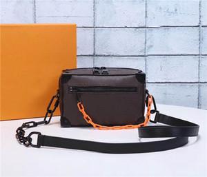 Global libero classico di lusso di corrispondenza in pelle uomo donna tracolla migliore qualità della borsa 44480 dimensioni 18 cm 13 cm 8 cm