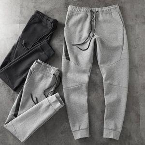 2019 Yeni Erkek Tasarımcı Teknoloji Polar Spor Pantolon Pantolon Kalça Kalça Streetwear erkek Spor Marka Uzay Pamuk Koşu Pantolon Boyutu: M-XXL