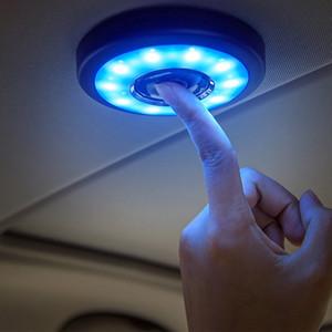 USB Interior LED Car Light Reading Auto carregamento Telhado de geladeira portátil Dia Luz Tronco Veículo interior teto branco Iluminação