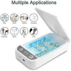 UV maschere Telefono sterilizzatore contenitore di monili Cellulari Cleaner Personal sterilizzatore Disinfezione Gabinetto con Aroma di sterilizzazione per Mask