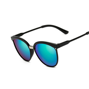 Fashion Cat Eye Sunglasses Women Oversized Steampunk Vintage Sun Glasses For Ladies Retro Brand Designer Color Lens
