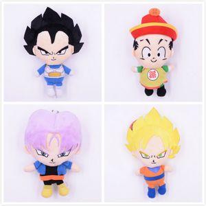5 Styles Dragon Ball Z Enfants Peluche Jouets Dessin Animé Kuririn Vegeta Goku Gohan Piccolo Beerus Farcies Poupées Enfants Garçons jouets Cadeaux jouet en peluche