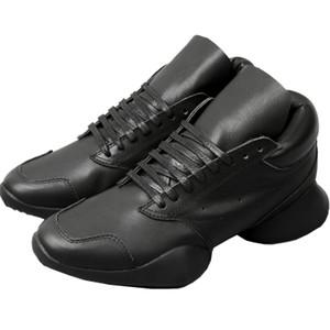 뜨거운 판매 손수 독점 말굽 오웬 인과 부츠 가죽 바위 플랫폼 트레이너 신발 최고의 품질