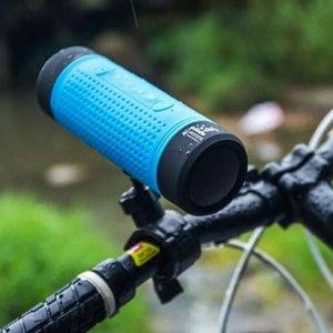 Outdoor Portable Dust-proof Wireless Sound Box Flashlight Music Speaker For Bluetooth Cycling Torch Lamp