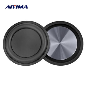 heap Speaker Accessories AIYIMA 2Pcs 62MM Bass Radiator Speaker Diaphragm Auxiliary Strengthen Bass Vibration Membrane Passive Radiator F...