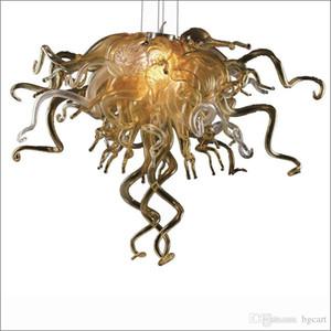 Designer Arte decorativa Chihuly Stile fatto a mano in vetro soffiato Lampadari Multicolore Ristorante decorativo moderno pendente di lampade