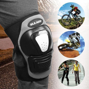 2pcs SULIT Outdorit Riding Roller Rolling Knee Pads Guards Protective Gear Sports Outdoors skatingneepad ridingroller Guard Pads