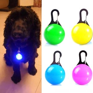 Luminous Bright Glowing Other Supplies Supplies In Dark Pet Dog LED Glowing Pendant Necklace Safety Puppy Cat Night Light Flashing Collar Pe