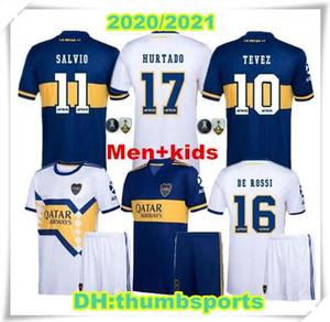 De Rossi 20 21 Boca Juniors Mash-Up Fútbol de la edición especial 2020 2021 TEVEZ BENEDETTO Nández PAVON MAN camisetas de JUEGO