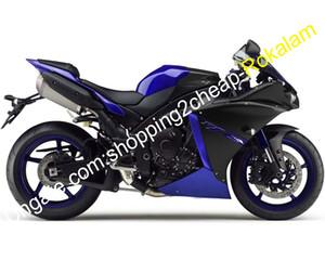 Pour Yamaha YZF1000 R1 Pièces 2012 ~ 2014 YZF 1000 12 13 14 14 YZF-R1 Black Bleu Sports Moto-Marché Kit après-vente (moulage par injection)