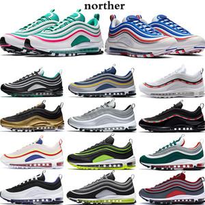Mejor venta Silver Bullet Zapatos para correr Hombre Undftd Blanco Neón Negro Rojo Cojín KPU Estilista de plástico Zapatos Zapatillas de moda EUR 36-45