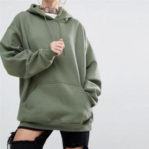 sport surdimensionné noir Sweats à capuche femmes sportswear survêtement Sweat à capuche Pocket overs Kpop Hip Hop Skateboarding Capuches