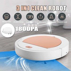 Yeni 3 1 Akıllı Libero Robot Evi Dayanıklı Güç Zemin Temizleme Robotları Elektrikli Süpürge 1800pa Y200320 içinde