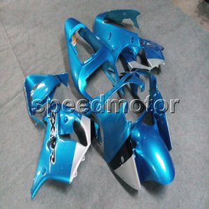 23 цвета + Botls светло-синий мотоцикл Обтекатель для Kawasaki ZX9R 2002 2003 ZX-9R 02-03 ABS пластик панели двигателя комплект