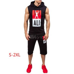 20ss Summer Designer Tracksuit for Men Letters Printed Sleeveless Sweat Suits Men's Running L0g0 Hoodie Shorts Track Suits Active Clothing
