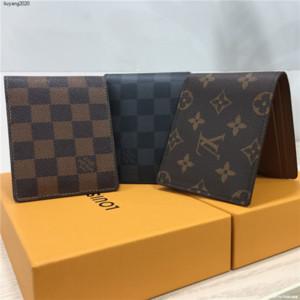 VK79 portafoglio 2020 degli uomini della borsa del portafoglio di affari mens del progettista del raccoglitore di lusso portafogli designer borse di lusso borse donne borse NO BOX