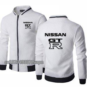 homens revestimento dos homens Outono Primavera para jaqueta de beisebol Logo GTR Car Imprimir Men camisola de algodão de alta qualidade de Fatos X
