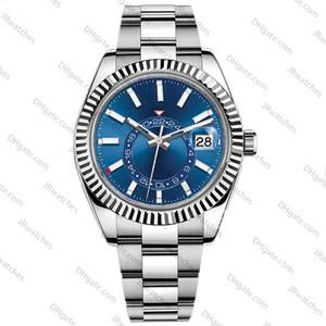 남성은 2813 자동 기계 일정 42mm 시계 스테인레스 스틸 새로운 발광 비즈니스 방수 30M 시계 남자 시계