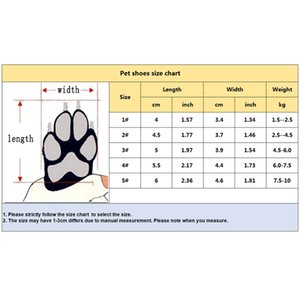4 Pcs Dog Waterproof Shoes Sneakers Breathable Colors Puppy Winter Anti-Slip Booties For Medium Large Dogs Zapatos Para Perro Dog Apparel