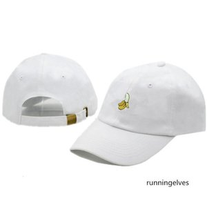 Banana embroidery cap design baseball curved brim couple sun hat