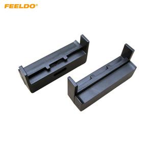 FEELDO 1Din Panel de marco de panel de fascia para radio de coche para AUDI TT 1998-2006 A2 \ A4 1999-2002 Panel de la cubierta del tablero de instrumentos estéreo Kit de acabado bisel # 5035