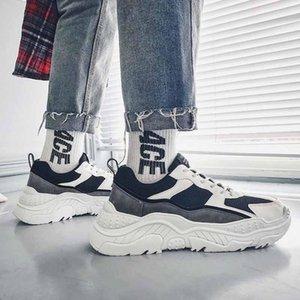 Men S sapatos caem de 2019 novos homens vermelhos líquidos s sapatos maré Torre sapatos coreano tendência Joker casais sneakers