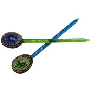 Product Name:Premium Glass Dabbler 133mm Wax Dab Tool Colorido Grueso Pyrex Dabber Herramientas Cuarzo Banger Nails Glass Bong Tool