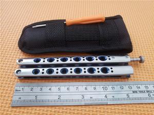 En iyi fiyat! Kelebek Mavi BM42 Balisong Bıçaklar Titanyum Kelebek BM43 Bıçak (Düz) EDC cep taktik Bıçaklar Yeni Orijinal kutusunda ambalaj