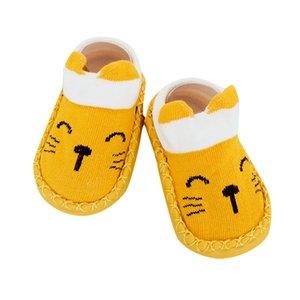 Lawadka Babysocken Weihnachts Anti Slip kurze Socken für Baby-Newborn-Winter-warme Säuglings Cartoon Mädchen Jungen für Babys
