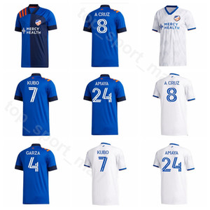2020 2021 FC سينسيناتي لكرة القدم جيرسي 8 CRUZ 31 مانه 7 كوبو 10 LOCADIA 9 ريجاتين 24 AMAYA 96 GUTMAN كرة القدم أطقم قميص