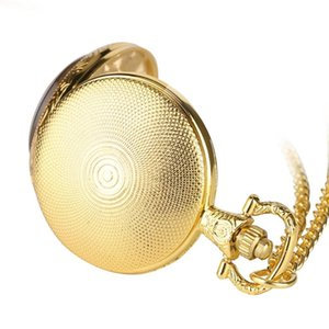 Valentine's Day Gift Pocket Watch for Boyfriend,Special Gift Necklace Pocket Watches for Lover, Loving Quartz Pocket Watch for Male
