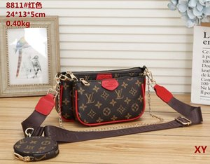 Vender Hot conjunto de 3 peças de designers sacos mulheres saco crossbody tote bolsas de luxo em couro bolsas designers de senhora sacos Coin Purse três artigo
