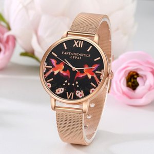 relojes quarzo Rose Gold Women Watches Luxury Ladies Wrist Watches Women Bracelet Watch For Female Clock