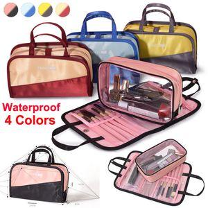 최신 메이크업 Organizer Storage Bag 여행 화장품 가방 속옷 워시 가방 방수 대용량 toiletry 핸드백 메이크업 브러쉬 가방