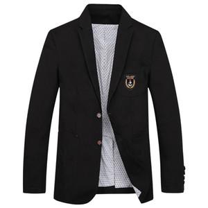 XIU LUO 4XL Повседневные Костюмы Черный Мужской Блейзер Куртка Хлопок Джинсовые Мужские Пиджаки куртка Одежда 2019 Новая Мода