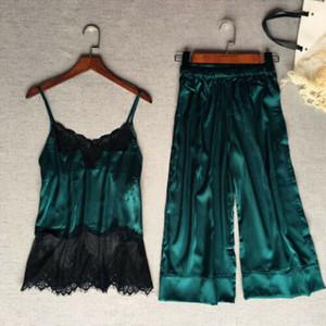 المرأة عارضة جديدة الحرير الحرير الرباط ملابس خاصة بيبي دول ملابس نوم ملابس نوم مجموعة AU