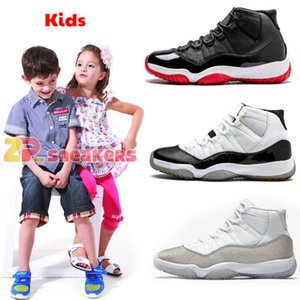 Jumpman 11 Low White Red Navy Gum Basketball Shoes Bred Georgetown Space Jam Citrus GS Basketball Sneakers Women Men Kids 11s Low XI