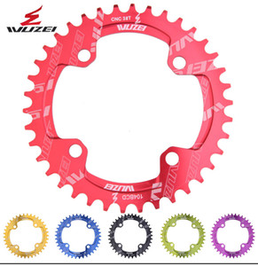 WUZEI Single 11 Speed System Narrow Wide Chainring BCD 104 ROUND 32T 34T 36T 38T for MTB 11s 10s 9s Crankset Chainwheel Ring