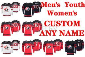 2019 Campeonato Mundial IIHF jerseys Sam Reinhart Jersey Jared Mccann Troy Stecher Sean Couturier Anthony Cirelli los jerseys del hockey personalizada